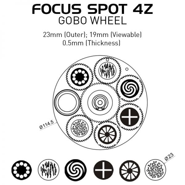 adj focus spot 4z 308 - Pro Audio