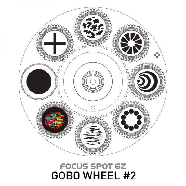 adj focus spot 6z gobo wheel 2 34 - Pro Audio