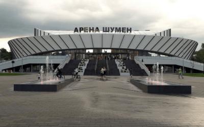 Спортен комплекс Aрена парк Бургас и многофункционална зала Aрена Шумен са с озвучителни системи реализирани от Про Аудио