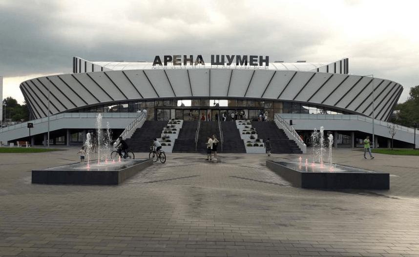 ozvuchitelna sistema na arena shumen