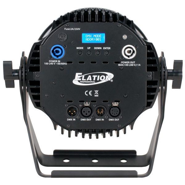 elation sixpar 200 rear - Pro Audio