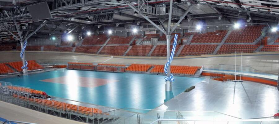спортна зала Колодрум озвучителна система