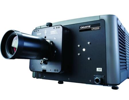 прожектор и озвучителна система за лятно кино