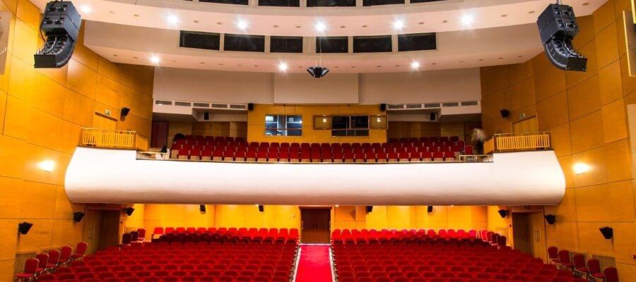 озвучителна система дом на културата град Пловдив