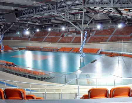спортна зала колодрум озвучителен проект