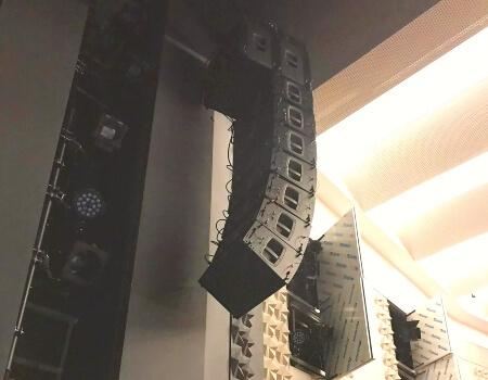 тонколони за концертна зала