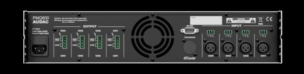 pmq600 back - Pro Audio