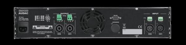 sma500 back - Pro Audio