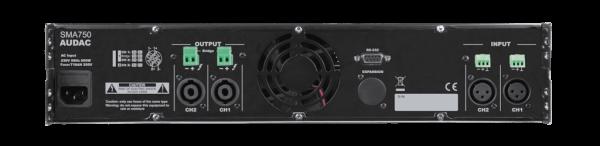 sma750 back - Pro Audio