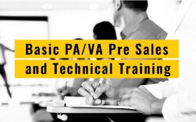 Базово техническо PA/VA обучение за Mini VES & Midi VES: Модулни системи за оповестяване. Принципи за проектиране и изграждане