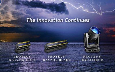 Elation Proteus с IP65 защитен клас: Лидер в нишата си с повече от 10 000 бройки на пазара