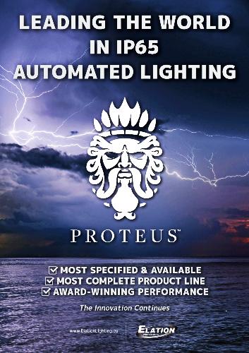 elation proteus new products - Pro Audio